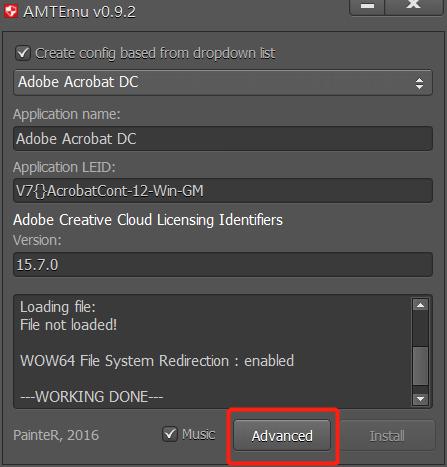 Amtemu.v0.9.2-painter怎么使用?2020年Adobe全功能激活软件工具破解!插图(2)