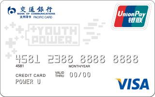 交通银行Y-POWER信用卡白卡怎么申请办理?年费是多少?怎么免年费?插图
